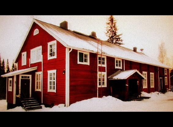Otalammen työväentalo on juhlapaikka, jossa järjestät myös talvella upeat ja lämminhenkiset häät tai muut juhlat.
